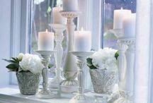 Schöner Wohnen mit Licht und Kerzen