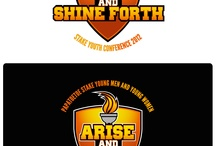 """LDS - Arise & Shine Forth Logo / LDS - Papatoetoe Stake needing a logo for their Youth Conference. Here I've designed a logo representing the theme """" Arise & Shine Forth"""""""