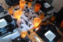 Tables et idées déco d'Halloween
