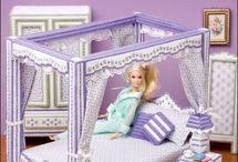 мебель Барби крючком