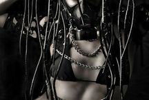 Cyber goth looks