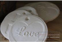 Landelijk en stoer: Liefde / Landelijke, romantische woonaccessoires