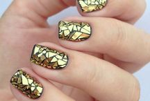 Nails metalic and mirror