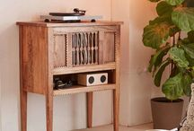 Record Player Stands, Tables, Cabinets, Consoles / A board about all the amazing record player and turntable furniture on the market.