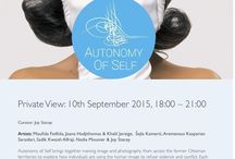 Private View: Autonomy of Self / The trustee board members and the staff of the P21 Gallery invites you to the opening of Autonomy of Self  On: 10th September 2015, 18:00 – 21:00 Autonomy of Self brings together moving image and photography from across the former Ottoman territories to explore how individuals are using the human image to refuse violence and conflict.