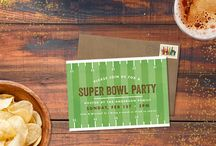 Party | Super Bowl / Just in time for the big game, Super Bowl party inspiration including invitations, prop bet ideas, food, drinks & more! / by Greenvelope.com