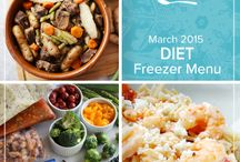 Diet March 2015 Freezer Menu / by Once A Month Meals