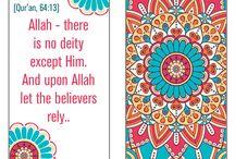 Qur'aanic Verses.