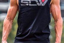 Muscular Beautiful Gay