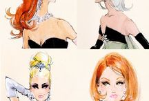 Love for Fashion Illustration / by Julija Lubgane