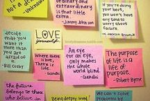 Quotes / by Carolynn Scoffield