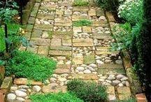 Ścieżki/schody ogrodowe