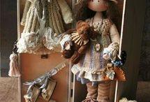 poupées en tissus