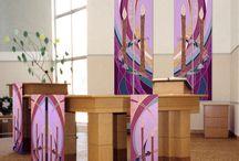 Church hangings