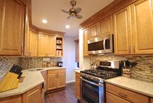 Kitchen Renovation in Queens, NY / This is a Custom Kitchen Renovation project we completed for Lowe's Home Improvement in a Queens, NY Apartment. The clients were very pleased with the work we completed.