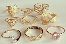 Accessories / Rings, necklaces, watches, bracelets, hair accessories,...♡♡♡ ROSE GOLD = my love♡♡♡