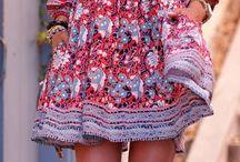 vestido hipie chic