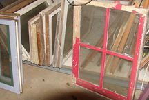 Vanhat ikkunat ja ovet yms