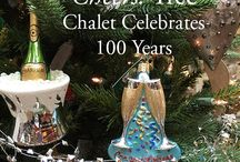 2016 Christmas Tree Themes / Every year the creative minds at Chalet curate the most beautiful Christmas trees.  This year is no exception...take a look!