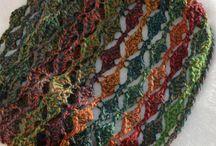 Crochet Scarves etc / Scarves, Scoodies, Wraps, Cowls...