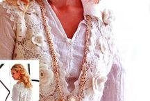 Chalecos Crochet Irlandés