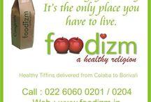 Foodizm / Healthy Tiffin Delivery Service from COLABA to BORIVALI !