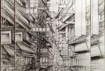 Maciej Czech / Drawings