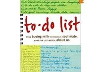 Lists...love them...