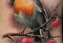 Robin bird tatoos