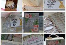 Bridesmaids Gifts / The perfect way to ask your bridesmaids to be apart of your special day! From personalized bibles to custom made book marks, these are the gifts they'll cherish forever!