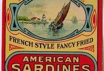 vintage sardines
