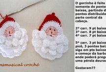 Pai Natal crochet