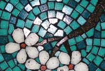 Mosaicos con piedritas