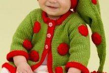 christmas crochet niños