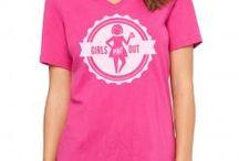 Girls Pint Out Official Logo Gear