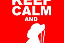Keep calm / The only thing that you have to do now is keep calm and everything is gonna be alright!