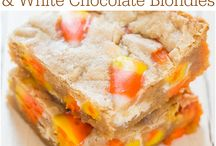 Dessert Bars and Brownie Recipes / Dessert bars, brownies, treats
