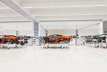 Modern Car Factory