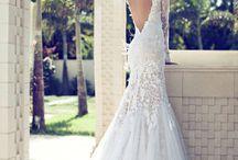 elegant classic wedding dress