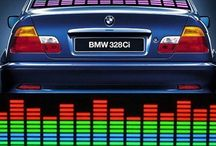Car Glow LED Sound Activated Equalizer Multicolour Projector Light Sticker