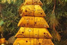 Natal Craft / Passo a passo, DIY, artesanato, craft, faça você mesmo sobre o Natal