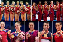 gymnastics / by Beth Medvedev