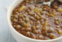 Soupe de lentilles à la coriandre et au citron : recette de cuisine proposée par ELLE à Table - Recettes Elle à Table