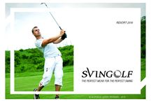 Garry Iryawan for SVINGOLF - 2016 Collections / This is my portfolio for Svingolf, one of golf apparel company. I made this presentation for Resort Season 2016, from Moodboard, Color Tone, References until the Technical Drawing and Manequin. I also make the packaging and website promotion to support Marketing team.
