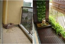Balcony Gardens / Creating a functional, yet pretty #garden on an #apartment balcony! / by Kelly Loubet