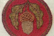 Rug Hooking and Needle Punch and crochet projects :)  / by Jennifer Bayles