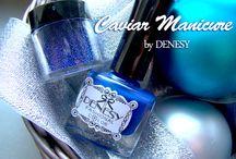 Caviar Manicure / najciekawsze sposoby jak wykorzystać kawiorowe kuleczki :)