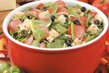 Foods-Salads / by Donna Giblin