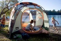 Camping with Kids / Tips for keeping kids happy and comfortable while camping