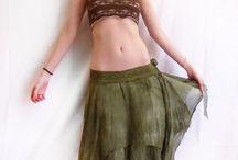 ۞ Spiritual Fashion ۞ / Boho, Psy, Pixie, green, eco, forest